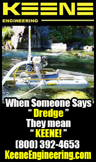 keene Engineering - Gold Dredges